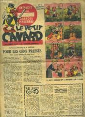 Le Petit Canard N° 5 Du 7 Juillet 1946. Interdit Au Grandes Personnes. Supplement Du N° 5 De Bonjour Dimanche. - Couverture - Format classique