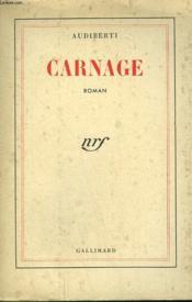 Carnage. - Couverture - Format classique