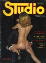 Studio - Le Magazine Du Plaisir N°7 Du Volume 1 - Les Epreuves De L'Abbe Dru - Le Chale Noir De Macha - La Martingale - Axelle Irinia Johanna - Couverture - Format classique