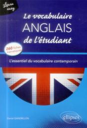 Vente livre :  Learn easy  le vocabulaire anglais de l etudiant. l essentiel du vocabulaire general et journalisti  - Gandrillon - Daniel Gandrillon