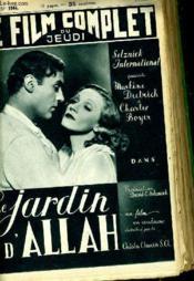 Le Film Complet Du Jeudi N° 1944 - 16e Annee - Le Jardin D'Allah - Couverture - Format classique