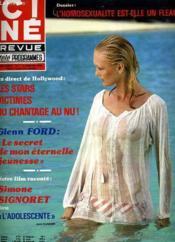 Cine Revue - Tele-Programmes - 59e Annee - N° 1 - L'Adolescente - Couverture - Format classique