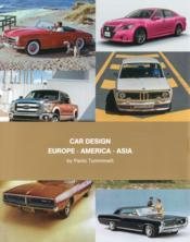 Vente livre :  Car design box set ; Europe, America, Asia  - Paolo Tumminelli