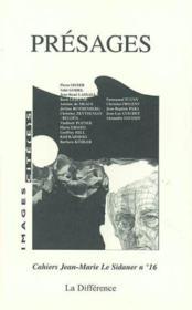 Presages N 16 Cahiers Le Sidaner - Couverture - Format classique