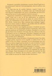 Hordubal - 4ème de couverture - Format classique
