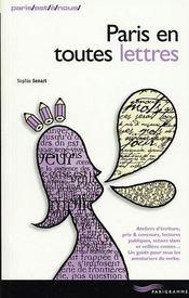 Paris En Toutes Lettres - Intérieur - Format classique