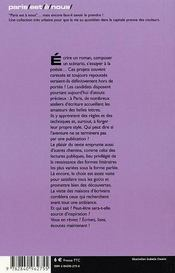 Paris En Toutes Lettres - 4ème de couverture - Format classique