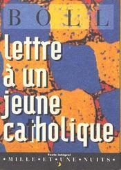 Lettre A Un Jeune Catholique - Intérieur - Format classique