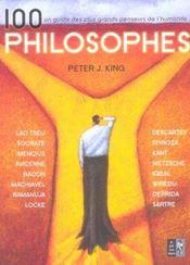 100 philosophes - Intérieur - Format classique