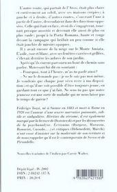 Ombre De La Jeunesse (L') - 4ème de couverture - Format classique
