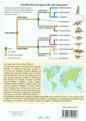Petit Guide T.21 ; Les Dinosaures - 4ème de couverture - Format classique