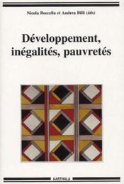 Developpement, inegalites, pauvretes - Couverture - Format classique
