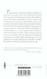 Nomade Immobile (Le) - 4ème de couverture - Format classique