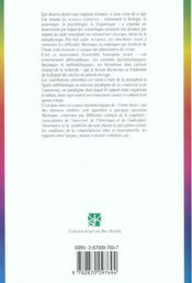 Percevoir : monde et langage ; invariance et variabilité du sens vécu - 4ème de couverture - Format classique