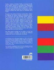 Couleur Matiere Et Lumiere - 4ème de couverture - Format classique