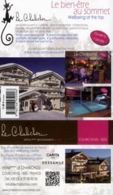 Guide Petit Fute ; Thematiques ; Ski & Spa Dans Les Alpes (Edition 2013) - 4ème de couverture - Format classique