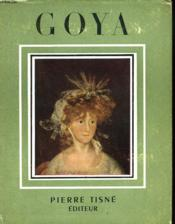 Goya - Couverture - Format classique