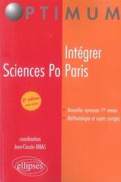 Intégrer Sciences Po Paris - Intérieur - Format classique