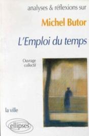 Butor L'Emploi Du Temps - Couverture - Format classique