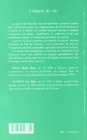 Loques De Vie - 4ème de couverture - Format classique