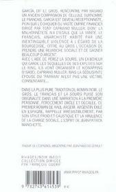 Le Gros, Le Francais Et La Souris - 4ème de couverture - Format classique