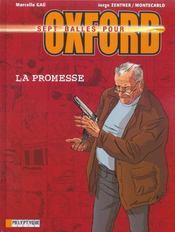 Sept balles pour oxford t.1 ; la promesse - Intérieur - Format classique