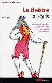 Le theatre a Paris - Intérieur - Format classique