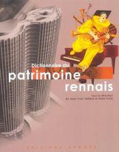 Dictionnaire Du Patrimoine Rennais (+1cd) - Intérieur - Format classique