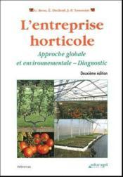 L'entreprise horticole (édition 2004) - Couverture - Format classique