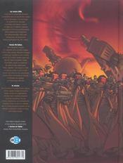 Carmen mc callum ; intégrale 1er cycle ; t.1 à t.3 ; l'affaire sonoda - 4ème de couverture - Format classique