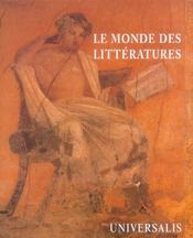 Le monde des litteratures - Intérieur - Format classique