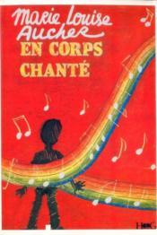 En corps chanté - Couverture - Format classique