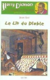 Harry Dickson t.2 ; le lit du diable - Couverture - Format classique