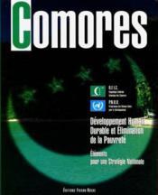 Comores : developpement humain durable et elimination de la pauvrete - Couverture - Format classique