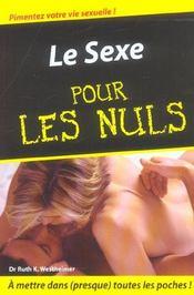 Le sexe - Intérieur - Format classique