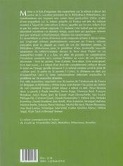 La reliure contemporaine en France - 4ème de couverture - Format classique