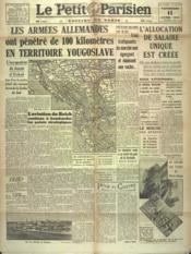 Petit Parisien Edition De Paris (Le) du 11/04/1941 - Couverture - Format classique