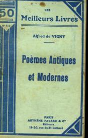 Poemes Antiques Et Modernes. Collection : Les Meilleurs Livres N° 111. - Couverture - Format classique