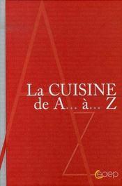 La cuisine de a a z - Intérieur - Format classique