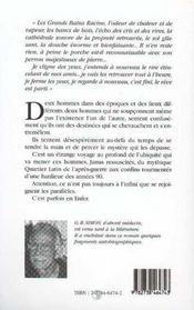 Florival Ou L'Imperceptible Eraflure Du Temps - 4ème de couverture - Format classique