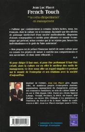 French Touch - 4ème de couverture - Format classique
