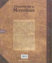 L'encyclopédie du merveilleux t.1 ; des peuples de la lumière - 4ème de couverture - Format classique