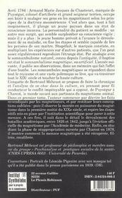Somnambulisme Et Mediumnite, T. 1, Le Defi Du Magnetisme - 4ème de couverture - Format classique