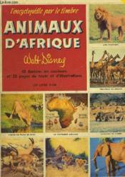 Animaux D'Afrique - Couverture - Format classique