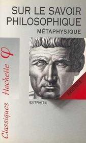 Sur le savoir philosophique - Intérieur - Format classique