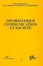 Informatique, communication et société - Couverture - Format classique