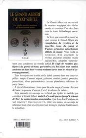 Grand Albert Du Xxi Eme Siecle - 4ème de couverture - Format classique