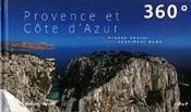 360° provence et cote d'azur - bilingue franç/angl - Couverture - Format classique