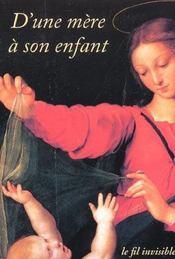 D'Une Mere A Son Enfant - Intérieur - Format classique