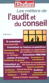 Les Metiers De L'Audit Et Du Conseil - Intérieur - Format classique